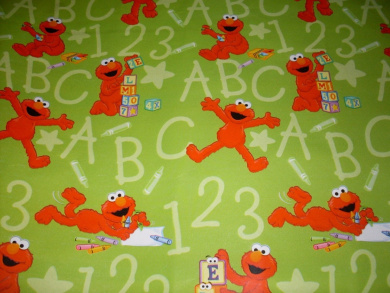 Sesame Street ELMO Gift Wrap ROLL & Pop-Up Bows - Birthday, Any Occasion