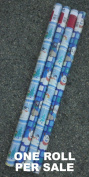Frosty the Snowman Christmas Wrapping Paper - One Roll