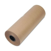 General Supply - High-Volume Wrapping Paper, 50lb, 60cm w, 720'l, BN, 1/Pack - Sold As 1 Roll - High volume.