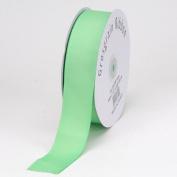 Mint Grosgrain Ribbon Solid Colour 1cm 50 Yards