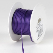 Purple Satin Ribbon 0.2cm 100 Yards
