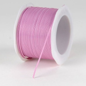 Rose Mauve Satin Ribbon 0.2cm 100 Yards