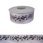 Music Treasures Co. Satin Music Notes Gift Ribbon