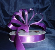 Ribbon - Satin Ribbon- 2.2cm Single Face 50 Yards (150 FT) - Purple - Sewing - Craft - Wedding Favours