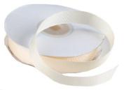 1.6cm Wide Ivory Grosgrain Ribbon - 2 - 25 Yards Rolls