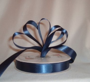 Ribbon - Satin Ribbon- 2.2cm Single Face 50 Yards (150 FT) - Navy Blue - Sewing - Craft - Wedding Favours