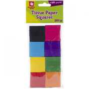 Fibre Craft Tissue Paper Pack, Multi Coloured