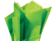 Green Gemstone Tissue Paper 50cm X 80cm - 20 Sheets