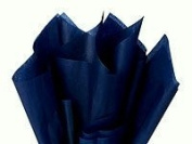 Bulk Dark Navy Blue Tissue Paper 50cm x 70cm - 48 Large Sheets