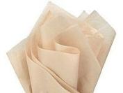 Brand New Parchment Off-White Ivory Bulk Tissue Paper 38cm x 50cm - 100 Sheets