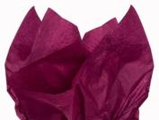 DARK BURGUNDY Bulk Tissue Paper 38cm x 50cm - 100 Sheets