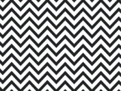 Black Chevron Wrap Tissue Paper 50cm X 80cm - 24 Sheets