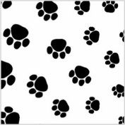 240 Puppy Paws Print Tissue Paper, 50cm x80cm Sheets