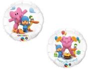 POCOYO Pocoyó Pink Elephant (2) 46cm Happy Birthday PARTY Supplies Mylar BALLOONS