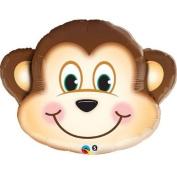 Mischievous Monkey Mylar Balloon