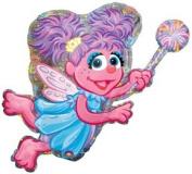 ABBY Cadabby Fairy Angel Sesame Street Elmo Friend Birthday Party Mylar Balloon