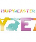 Easter Letter Foil Banner