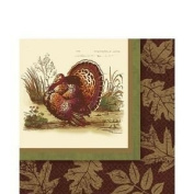 Thanksgiving Sophistication Luncheon Napkins