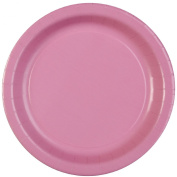 Celebrations! Candy Pink 17cm Paper Dessert Plates - 8 ct