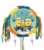 Despicable Me Drum Pull Pop-Out Pinata