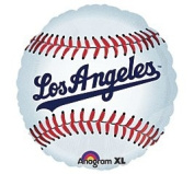 Los Angeles Dodgers 46cm Mylar Balloons MLB Party Balloon