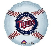 Minnesota Twins 46cm Mylar Balloons MLB Party Balloon