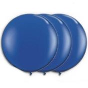 90cm Latex Balloon Dark Blue (Premium Helium Quality) Pkg/3