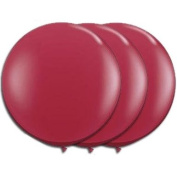 90cm Latex Balloon Scarlet Red (Premium Helium Quality) Pkg/3