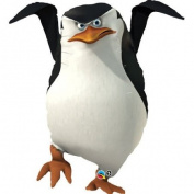 BIG Madagascar Skipper the Penguin 100cm Mylar Balloon
