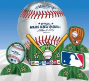 MLB Balloon Table Decorations
