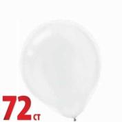 White 30cm Latex Balloons 72ct