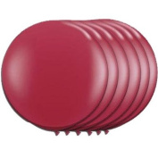 90cm Latex Balloon Scarlet Red(Premium Helium Quality) Pkg/6