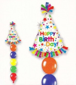 Balloon Time Create-A-Party Birthday Columns Balloon Pack