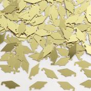 Gold Mortarboard Graduation Confetti