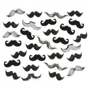 "Moustache ""Stache Bash"" Party Confetti- 60ml"