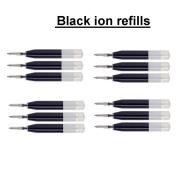 10 Cross Black Ion Gel Ink Refill [Bulk Packing] fits Roadster, Vice, Penatia Gelicious , and Matrix Pens]