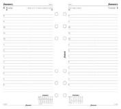Filofax 6844114 Personal Day Per Page Refill 2014