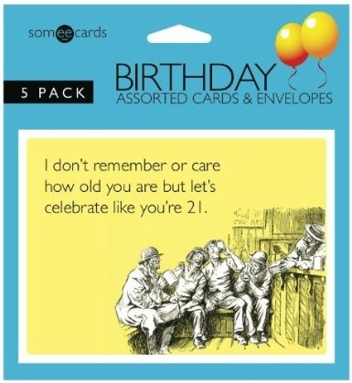 Someecards Assorted Birthday Greeting Cards