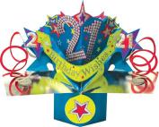 SECOND NATURE POP UPS - 068 - 21st STARS - Birthday Card