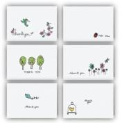 Spring Collection Thank You Cards - 24 Cards & Envelopes