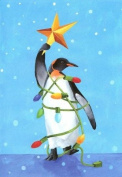 """Penguin Boxed Christmas Cards """"I'm a Star"""""""