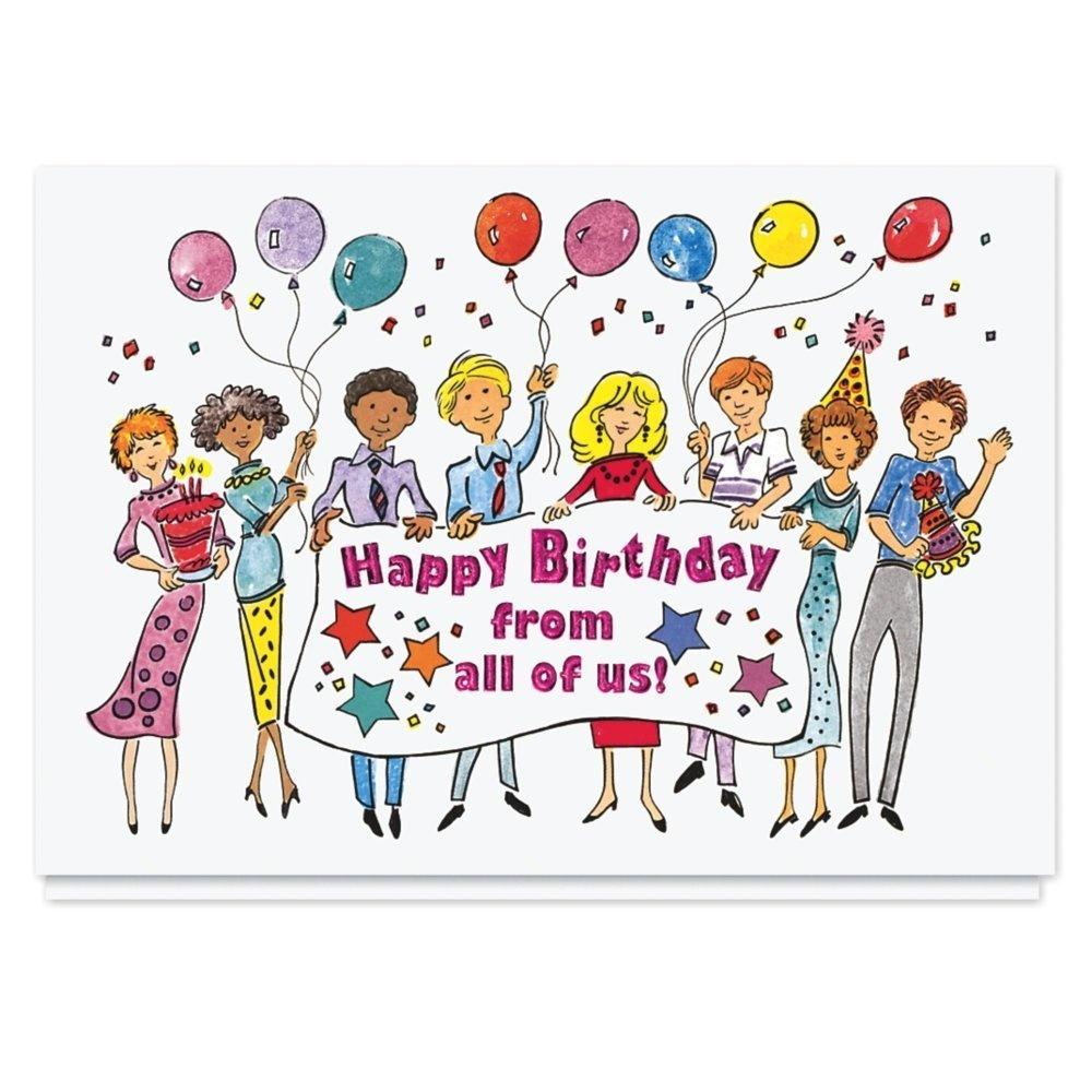 Banner Birthday Wishes Card