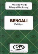 English-Bengali & Bengali-English Word-to-Word Dictionary