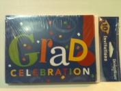 DesignWare Graduation Celebration Invitations 10 Cards with Matching Envelopes