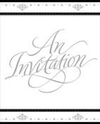 Stafford Silver Invitations w/Envelops 25 Per Pack