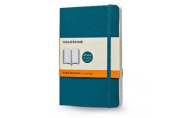 Moleskine Classic Coloured Notebook, Pocket, Ruled, Underwater Blue, Soft Cover