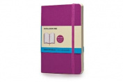 Moleskine Classic Coloured Notebook, Pocket, Dotted, Orchid Purple, Soft Cover