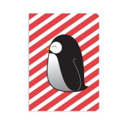 UFF Sunrise Note Card - Penguin (1 Card + 1 Envelope + 1 Sticker) | Rungtong & Co. Stationery Line