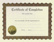 (Price/Pack)Masterpiece Studios 930400 Completion Stock Certificate