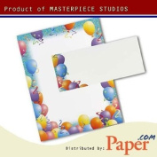 Masterpiece Party Letterhead - 8.5 x 11 - 25 Sheets